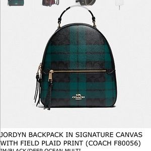 Coach Jordyn Backpack. Original tags attached.